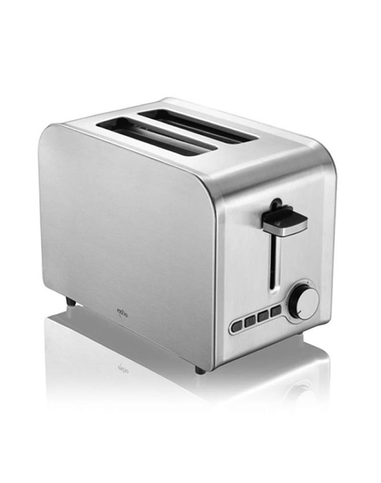 edelstahl design toaster techno design. Black Bedroom Furniture Sets. Home Design Ideas